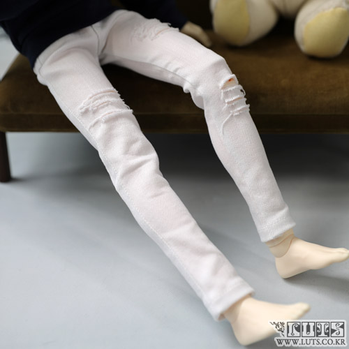 MDF Damage pants (White)