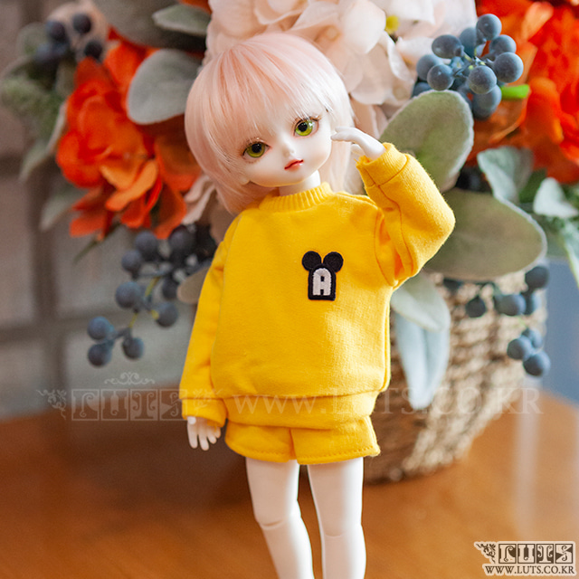 HDF Crayon MTM&Pants Set (Yellow)