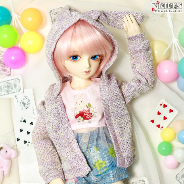 KDF Strawberry Rabbit Set