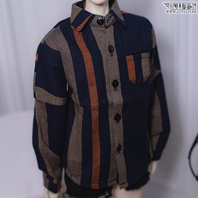 SDF65 Mix Color Overfit Shirt
