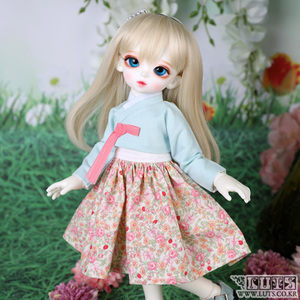 HDF Candy Flower Hanbok set (Mint)