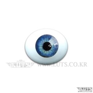 16MM Real Type Glass Eyes Blue