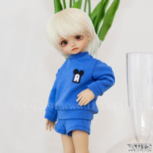 HDF Crayon MTM&Pants Set (Blue)