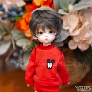 HDF Crayon MTM&Pants Set (Red)