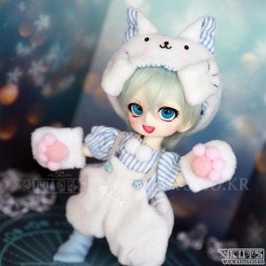 TDF Sweet Little Kitty set (Blue)