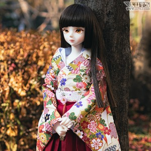 SDF Flower Hakama Set