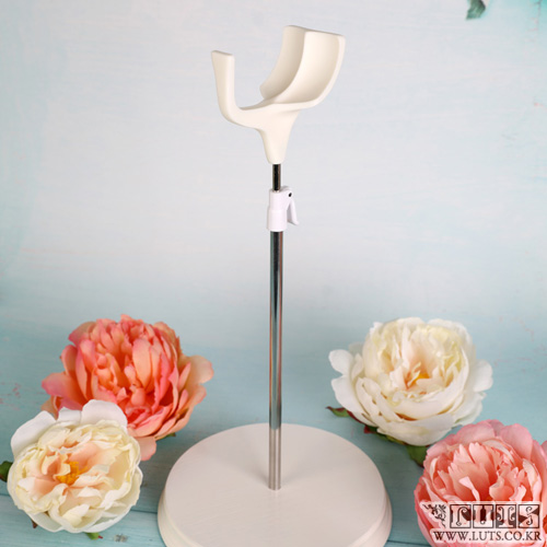 SADDLE DOLL STAND 55cm~70cm (White, M size)