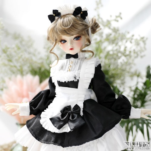 KDF Sweet Waitress Set (Black)