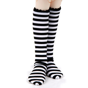KDF KNEE SOCKS For Kid (Stripe - Black)