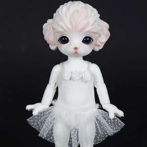 ZDF BALLET TUTU (White) For Zuzu Delf