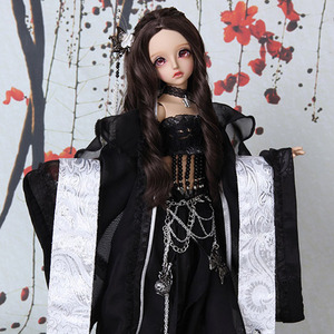 KDF Girl Han-fu Set (Black)