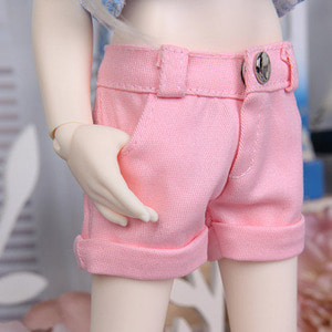 KDF Roll-up Pants (Pink)
