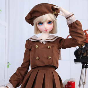 SDF School Girl Set (Brown)