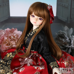 KDF Hanbok set (Black Red)