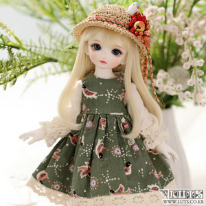 HDF Little bird set (Green)
