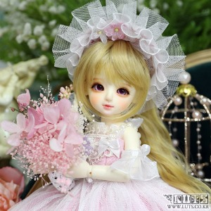 LUTS 19th Anniv. Honey Delf Happiness on 1000円 Pink ver. Limited