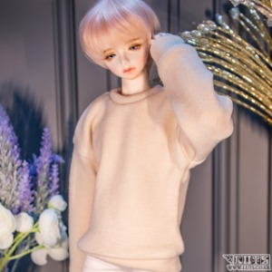 MDF Cozy sweat shirt (Cream)