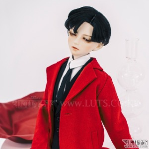 SDF65 Simple Long Jacket (Red)