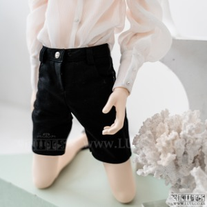 SDF65 Slacks Shorts (Black)