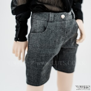 SDF65 Slacks Shorts (Gray)