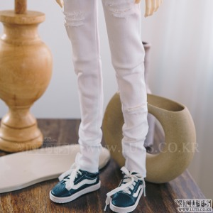 SDF65 Damage Pants (White)
