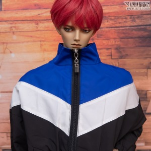 GSDF Wind breaker(Blue/black)
